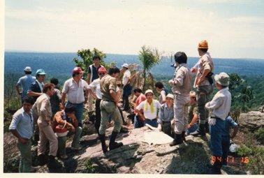 1984年11月16日(金) セロ・ドス・デ・オロでの現地説明会。.jpg