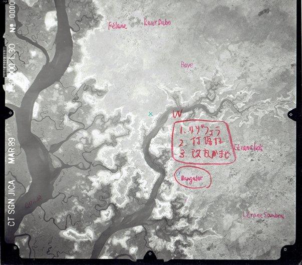 バンガレール村周辺の航空写真.jpg