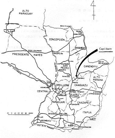 パラグアイ東部の地図と対象地域.jpg