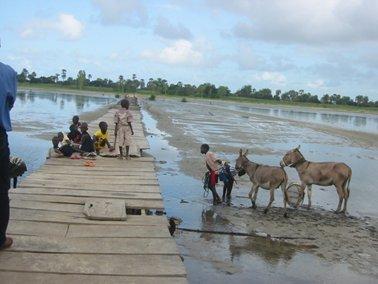 ムンデ村の入り口にある桟橋.jpg