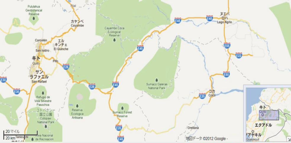 調査地周辺の地図(Lago Agrio?Coca).jpg