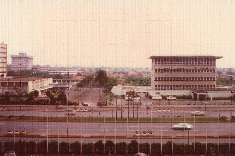 1978年当時のジャカルタ。プレジデントホテルから.jpg