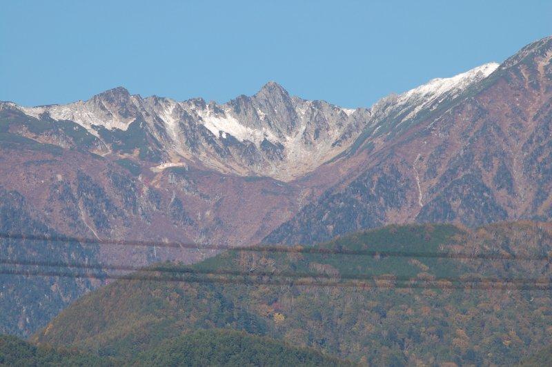 10月の駒ケ岳