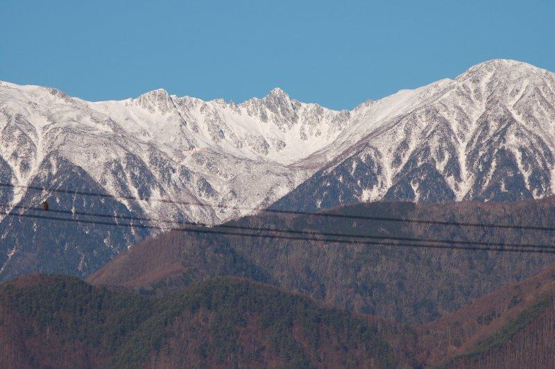2019年12月の駒ケ岳