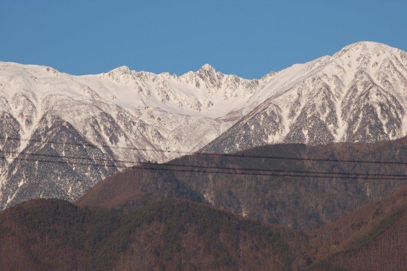 2020年1月の駒ケ岳