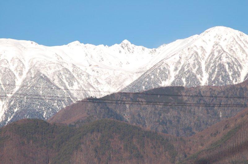 2020年2月の駒ケ岳
