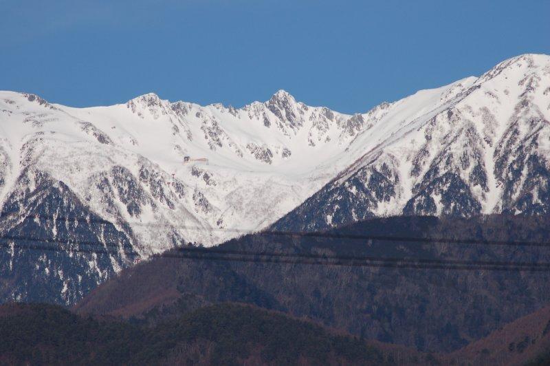 3月の駒ケ岳