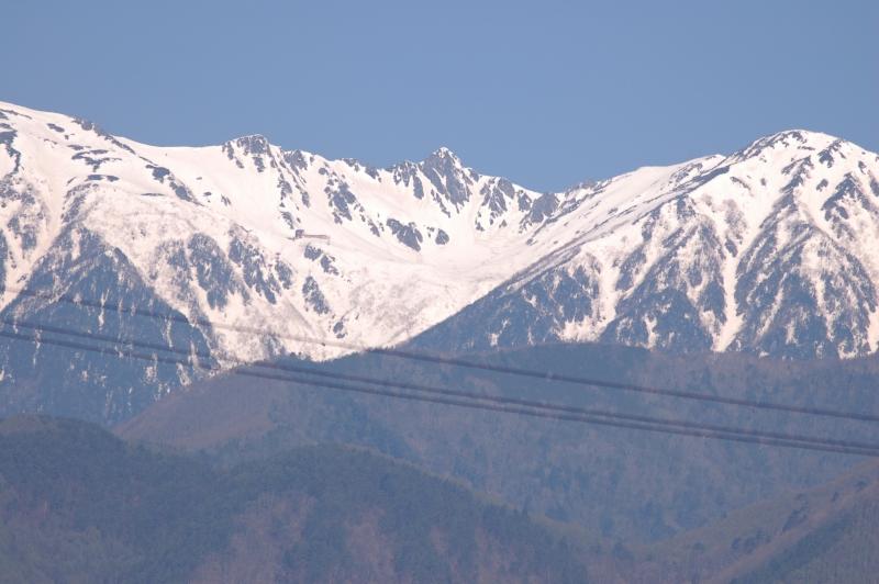 2020年5月の駒ケ岳