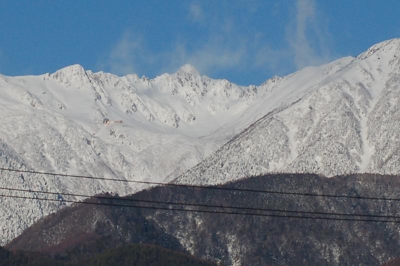 2021年1月の駒ケ岳